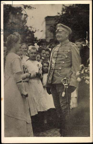 Photo King Frederick August III, Husar uniform