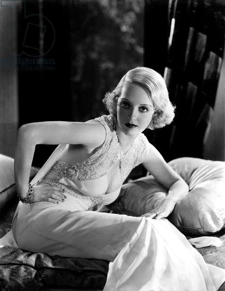 American Actress Bette Davis c. 1932