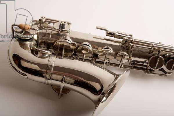 Alto saxophone - close-up
