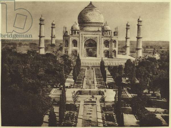 The Taj-Mahal in Agra (photogravure)