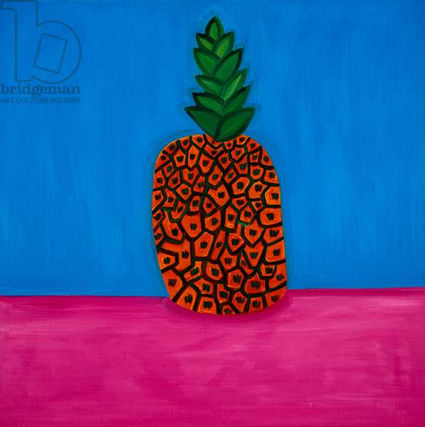 Pineapple,1998,(oil on linen)