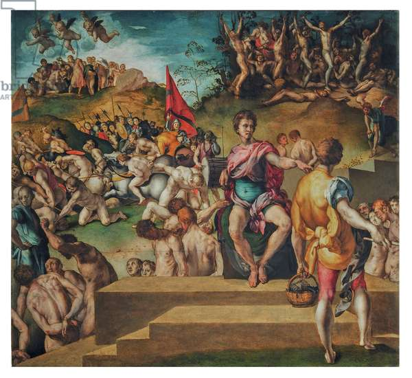 Ten Thousand Martyrs, 1529 (oil on board)