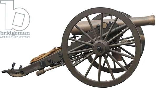 U.S. 12lb Bronze Napoleon Gun Model of 1857