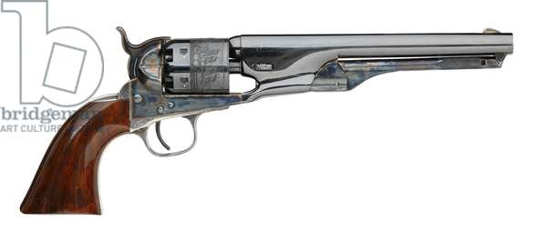 Pair of percussion six shot revolvers, 1863 (photo)