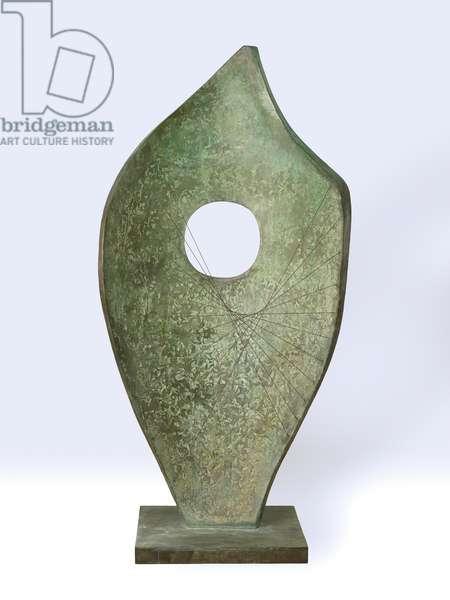 Curved Form (Bryher II), 1961 (bronze)