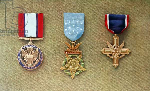 United states army distinguished service medals of World war One, 1918