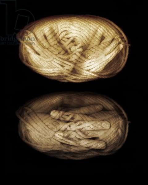 Yarn hands, 2013 (photo manipulation)