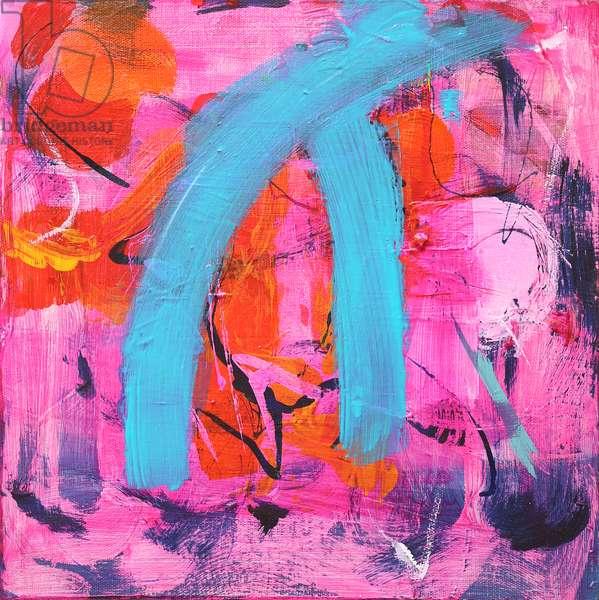 Joie de Vivre, 2018, (acrylic on canvas)