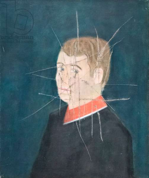 Self portrait, late 1950s-early 1960s (oil on canvas)
