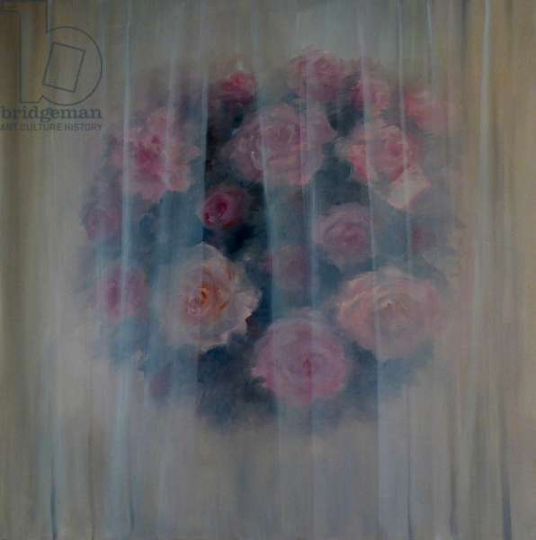 Rosa Obscura, 2018, (oil on canvas)