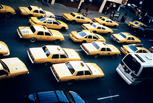 94 cabs,  1994 , photograph