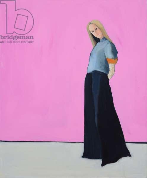 Jane, 2016, oil on canvas