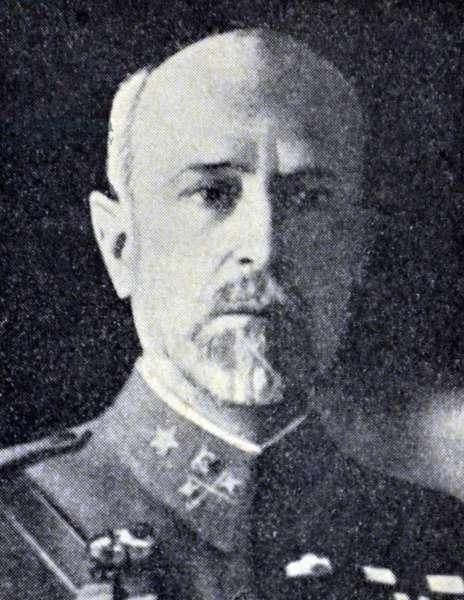 Spanish civil war : General Heredia Fernandez