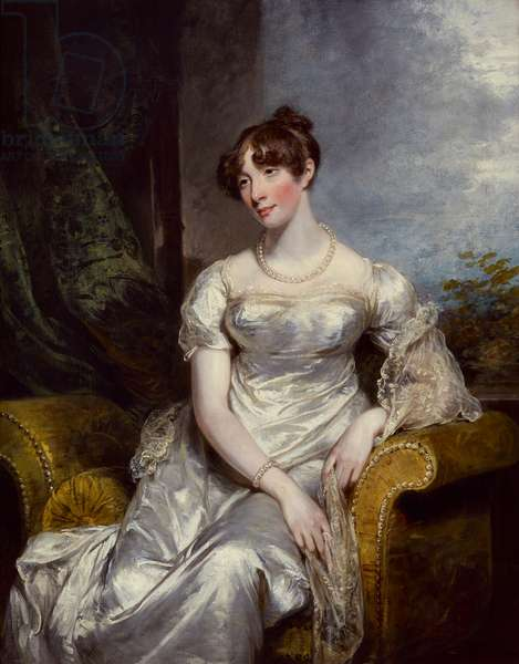 Portrait of Louisa, Lady Lovaine, later Countess of Beverley (oil on canvas)