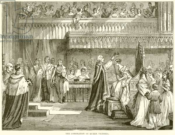 The Coronation of Queen Victoria (engraving)