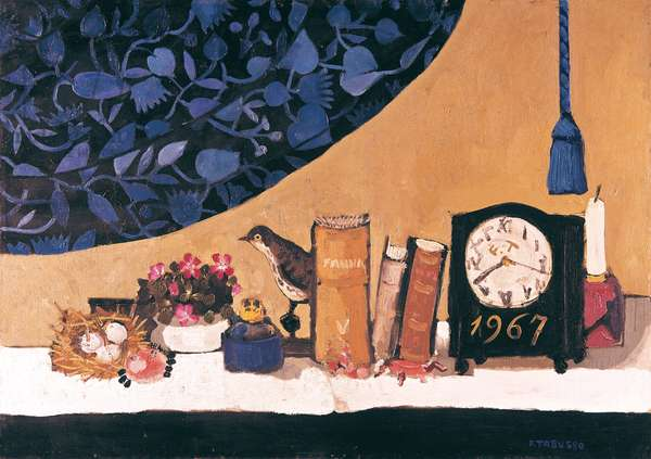 Still Life of the Collector, 1967 (oil on canvas)