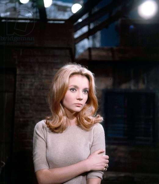 French Actress Caroline Cellier, c. 1970 (photo)