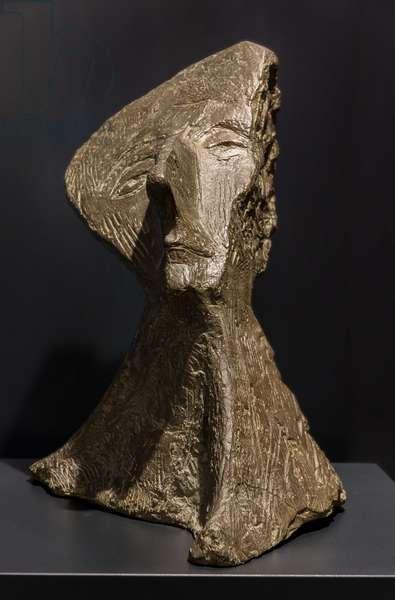 Portrait of the architect Giovanni Michelucci, 1952 (bronze bust)