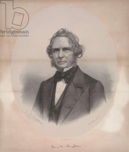 Henry W. Longfellow, 1859 (litho)
