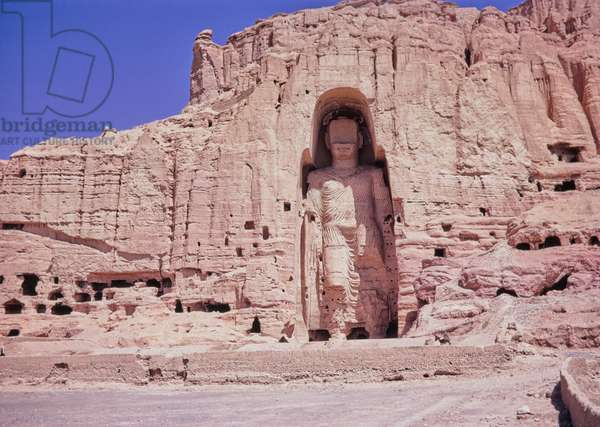 Bamiyan Valley of the Buddhas, Afghanistan, 1969 (photo)
