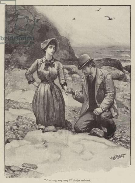 The Pursuit of the Well Beloved, by Thomas Hardy (engraving)