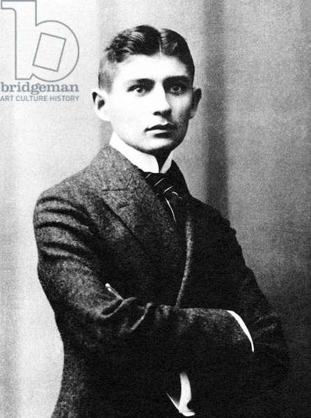 Czech Republic - Czechoslovakia: Franz Kafka, German-language author of novels and short stories (1883-1924), 1906