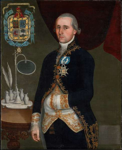 Portrait of the Duque de Agrada, c.1805 (oil on canvas)
