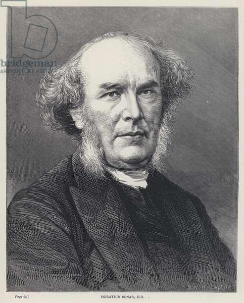 Horatius Bonar, DD (engraving)