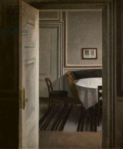 Interior, Strandgade 30, 1904 (oil on canvas)