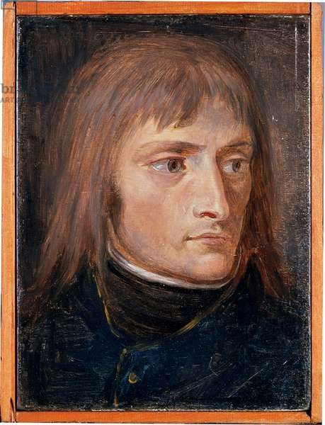 Portrait of Napoleon I Bonaparte, 1796 (oil on panel)