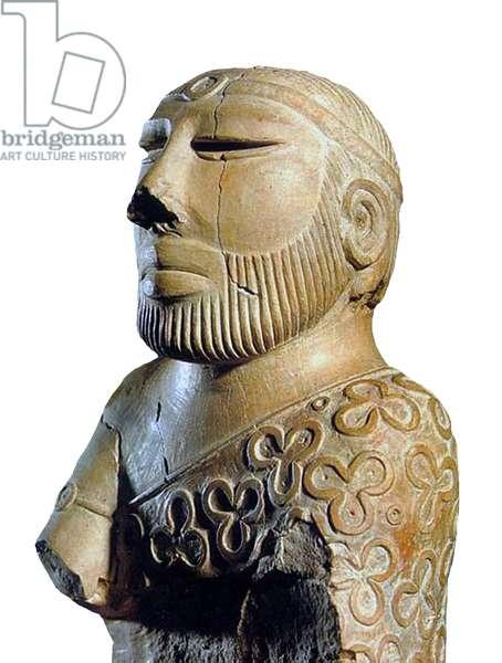Pakistan: The 'Priest King of Mohenjo Daro', Indus Valley Civilisation, Sindh, c. 2600 BCE