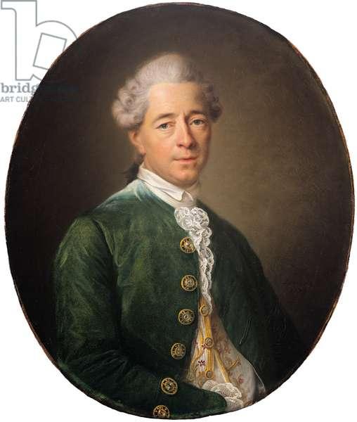 Portrait of Stanislas de Boufflers (Lunéville 1738-Paris 1815) (oil on canvas )