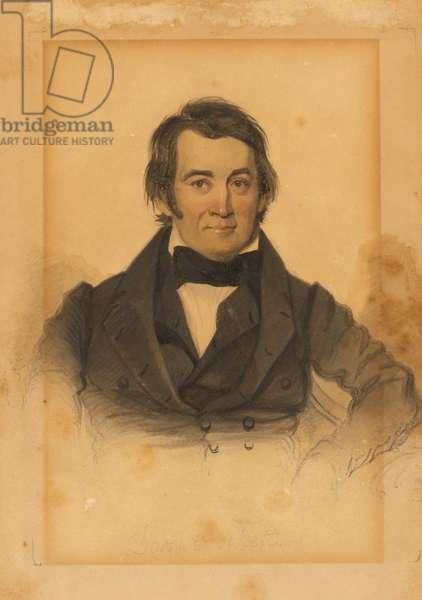 David Crockett (1786-1836), 1831 (w/c)