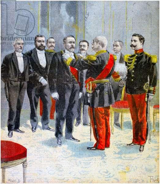 Death of FelixFrancoisFaure, 1899