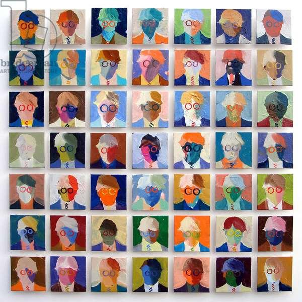 Homage to David Hockney No.4, 2008