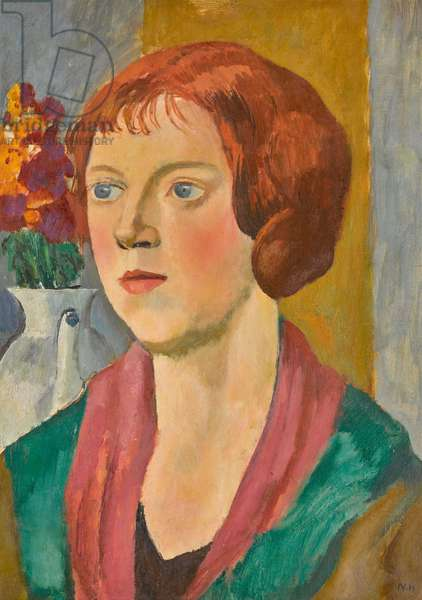 Portrait of Mary Torr, 1924 (oil on canvas)