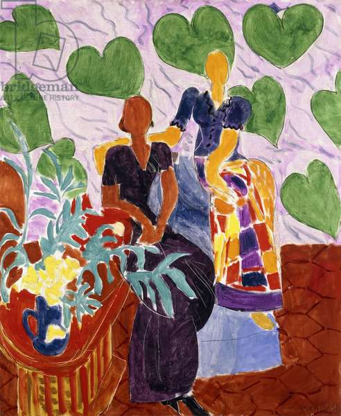Two Women, 1938 (oi on canvas)