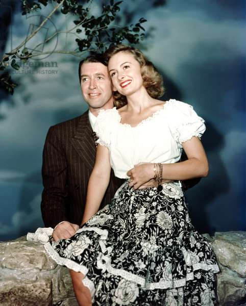 James Stewart And Donna Reed