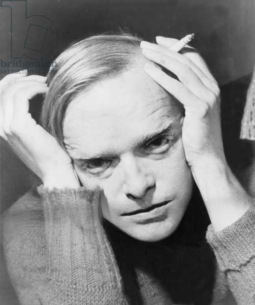 "Truman Capote (1924-1984), southern American novelist and playwright, author of ""Breakfast at Tiffany's,"" and the journalistic novel, ""In Cold Blood."", 1959"