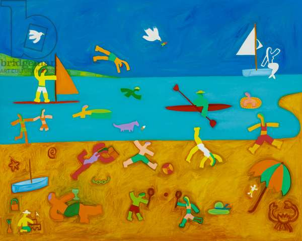 The Bathers,2001,(oil on linen)