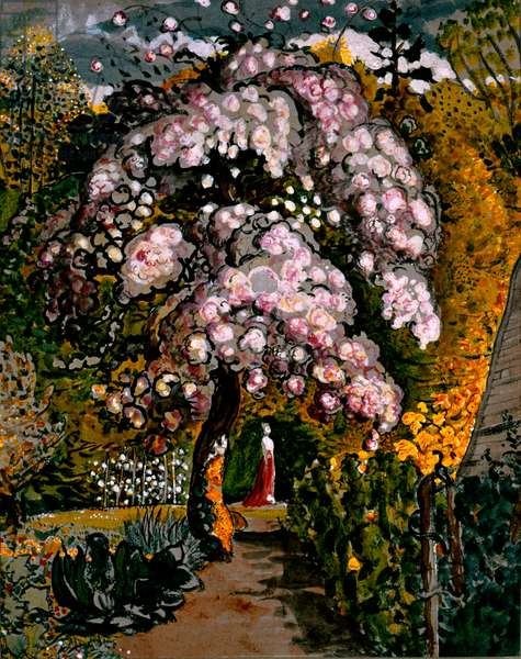 In Shoreham Garden  by Samuel Palmer