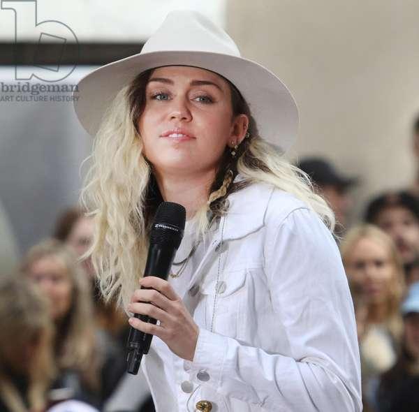 Miley Cyrus, 2017 (photo)