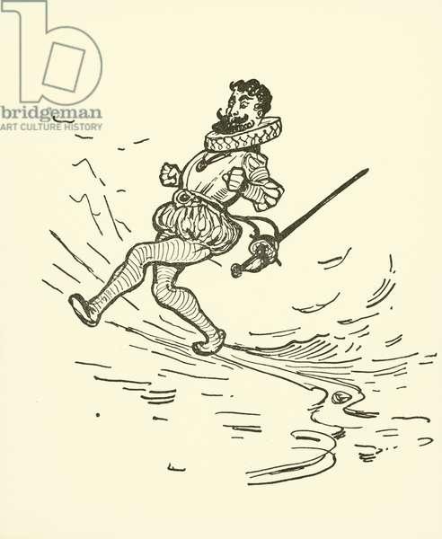 Sir Walter Raleigh (litho)