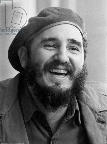 Fidel Castro In Havana