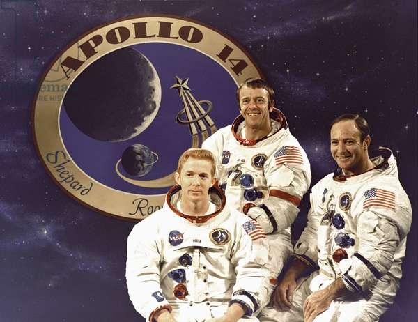Prime crew of the Apollo 14