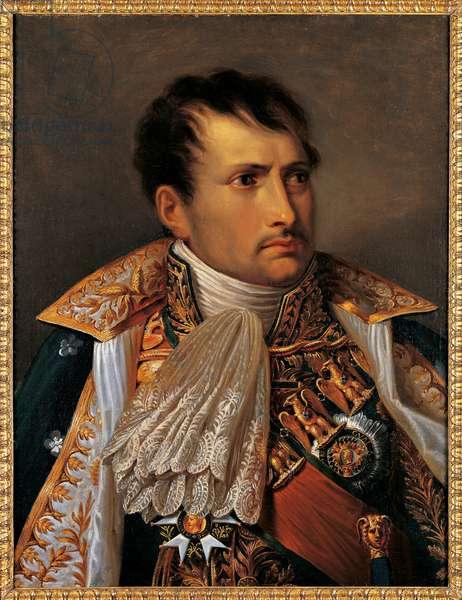 Portrait of Napoleon I Bonaparte, 1805 (oil on canvas)