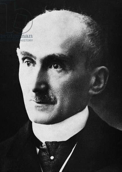 HENRI BERGSON (1859-1941) French philosopher. Photographed c.1928.