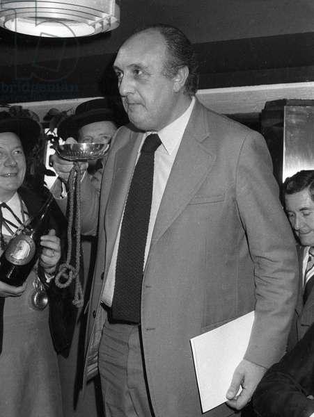 Pierre Chernia, 1976 (b/w photo)
