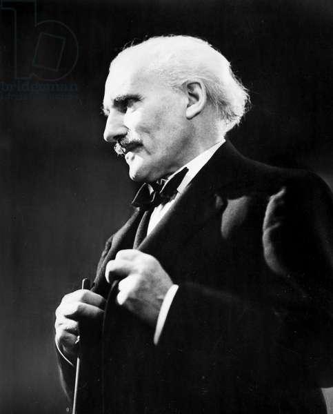 ARTURO TOSCANINI (1867-1957). Italian orchestral conductor.