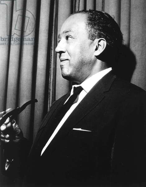 Langston Hughes (1902-1967) American poet novelist and playwright here c. 1953